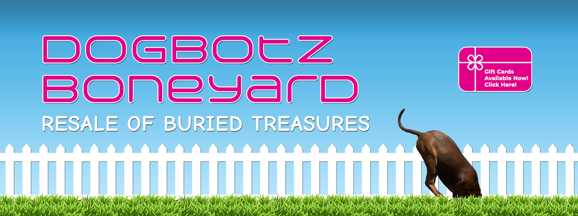 Dogbotz Boneyard - Gift Cards Available Now! Click Here!